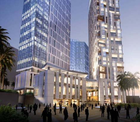 King Abdullah Financial District Parcel 3.04 & 3.05