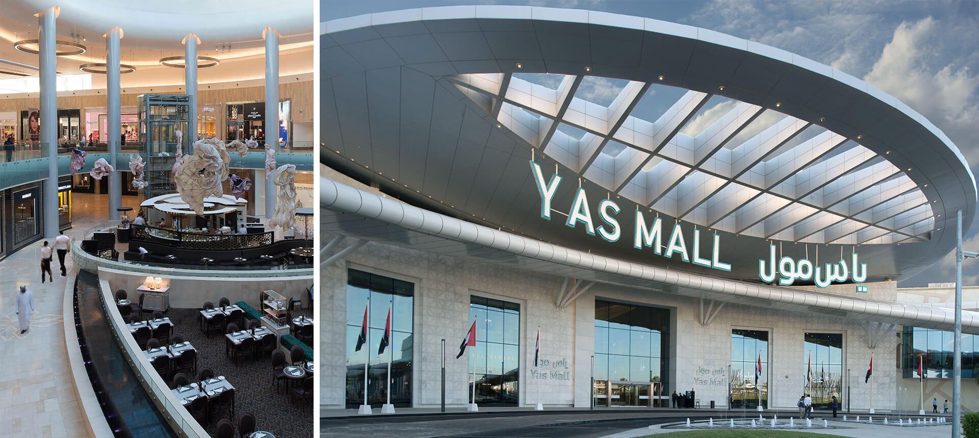 Yas Mall  CallisonRTKL # Nespresso Yas Mall