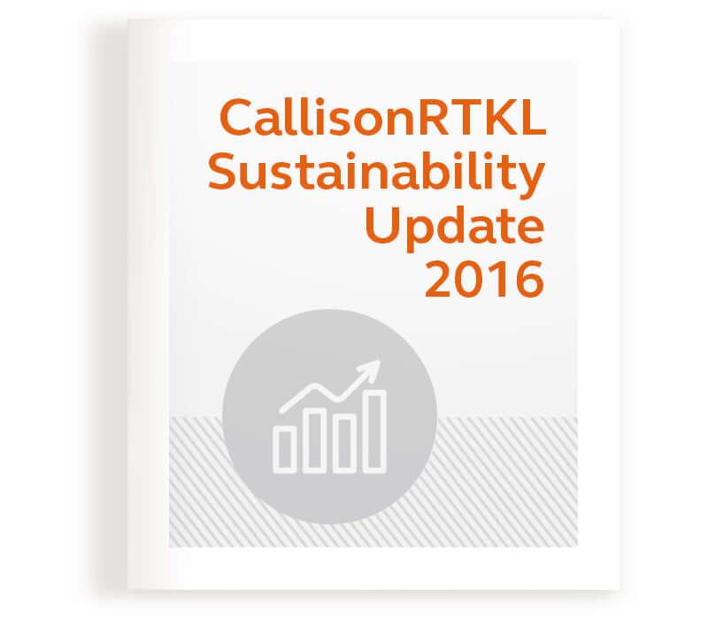 CallisonRTKL Sustainability Update